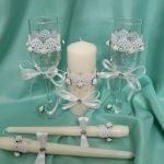 Свечи и бокалы