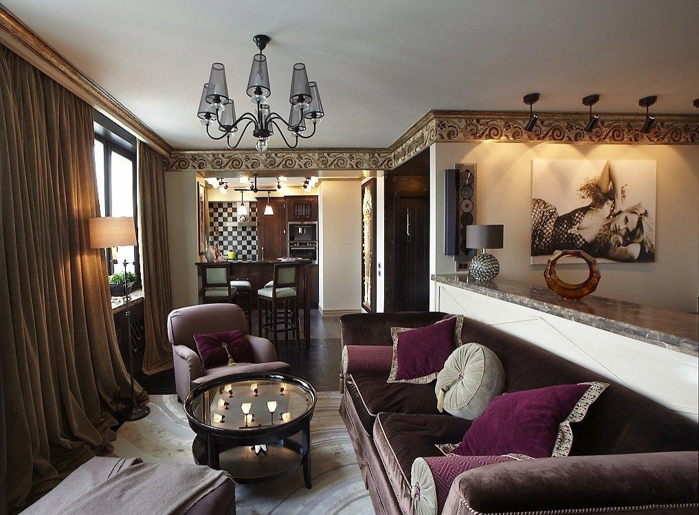 Квартира 50 кв м в этническом стиле