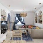 Восточные мотивы в интерьере квартиры