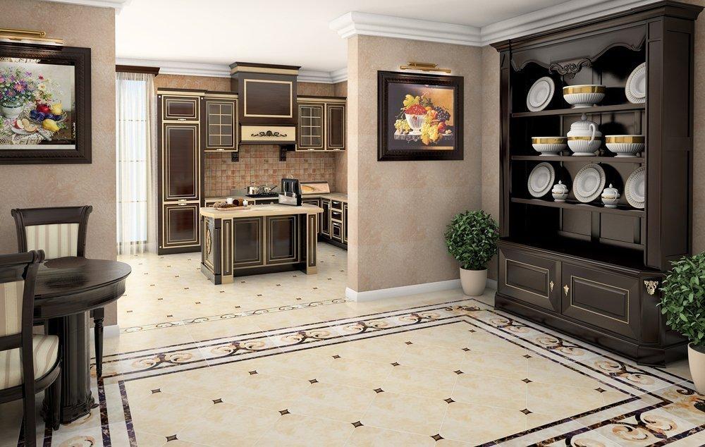 Кухня и столовая в классическом стиле