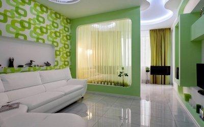 Дизайн спальни-гостиной площадью 18 кв. м — 40 фото примеров