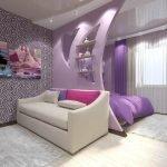 Одинаковые ковры в гостиной и спальне