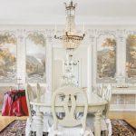 Интерьер столовой в классическом стиле