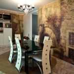 Оригинальная мебель в столовой
