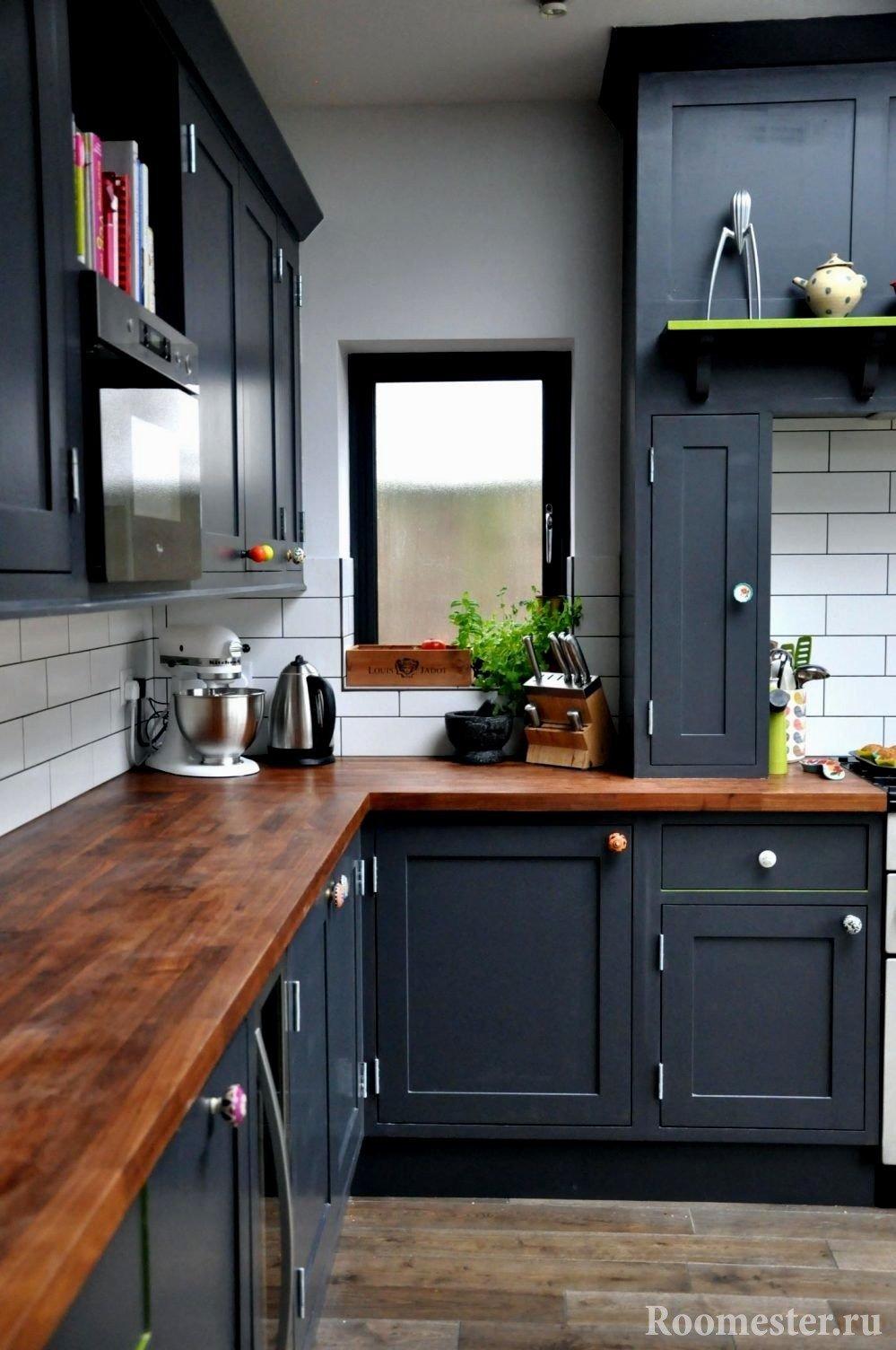 Какого цвета выбрать кухню если стены серые