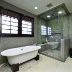 Ванна и душ в одной комнате