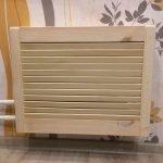 Деревянная панель для домашней батареи