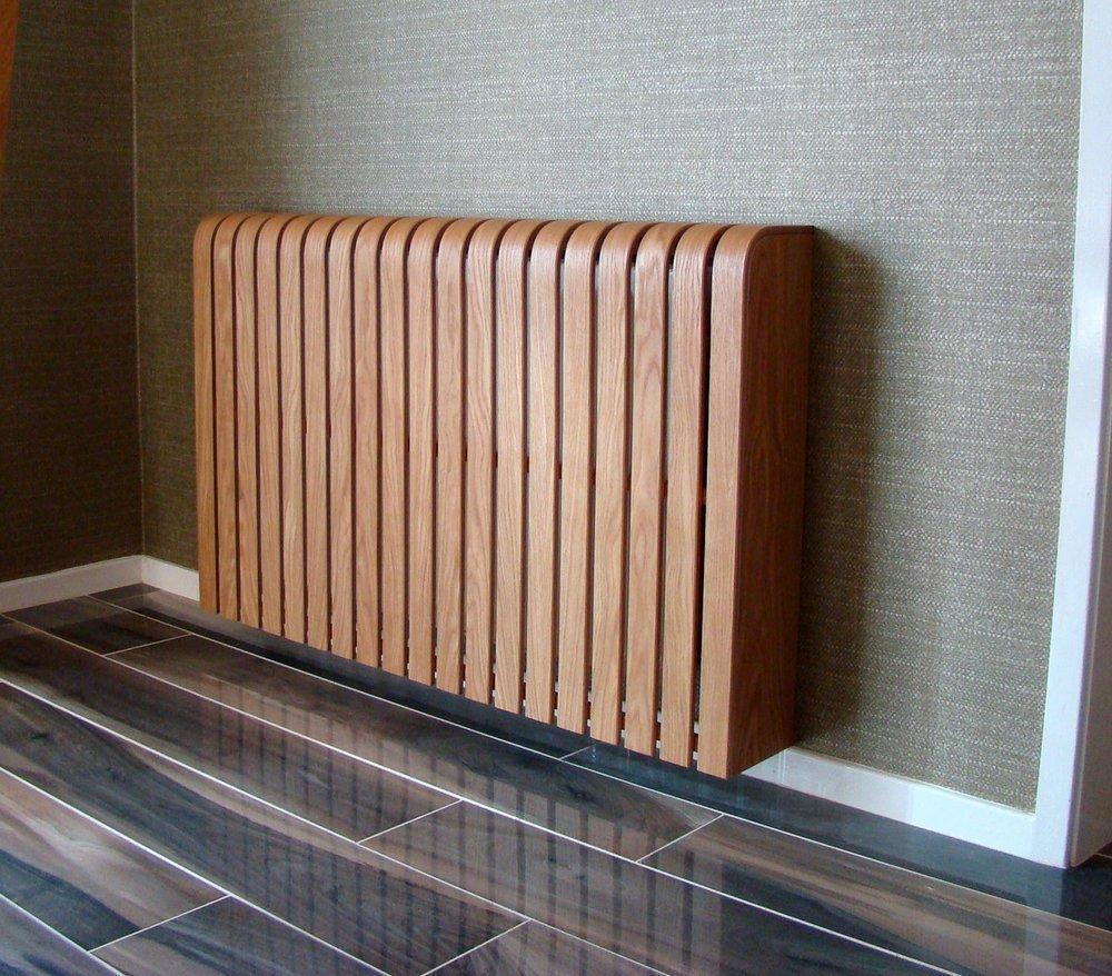 Деревянный радиатор