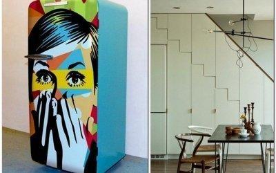 Декор холодильника +70 фото идей