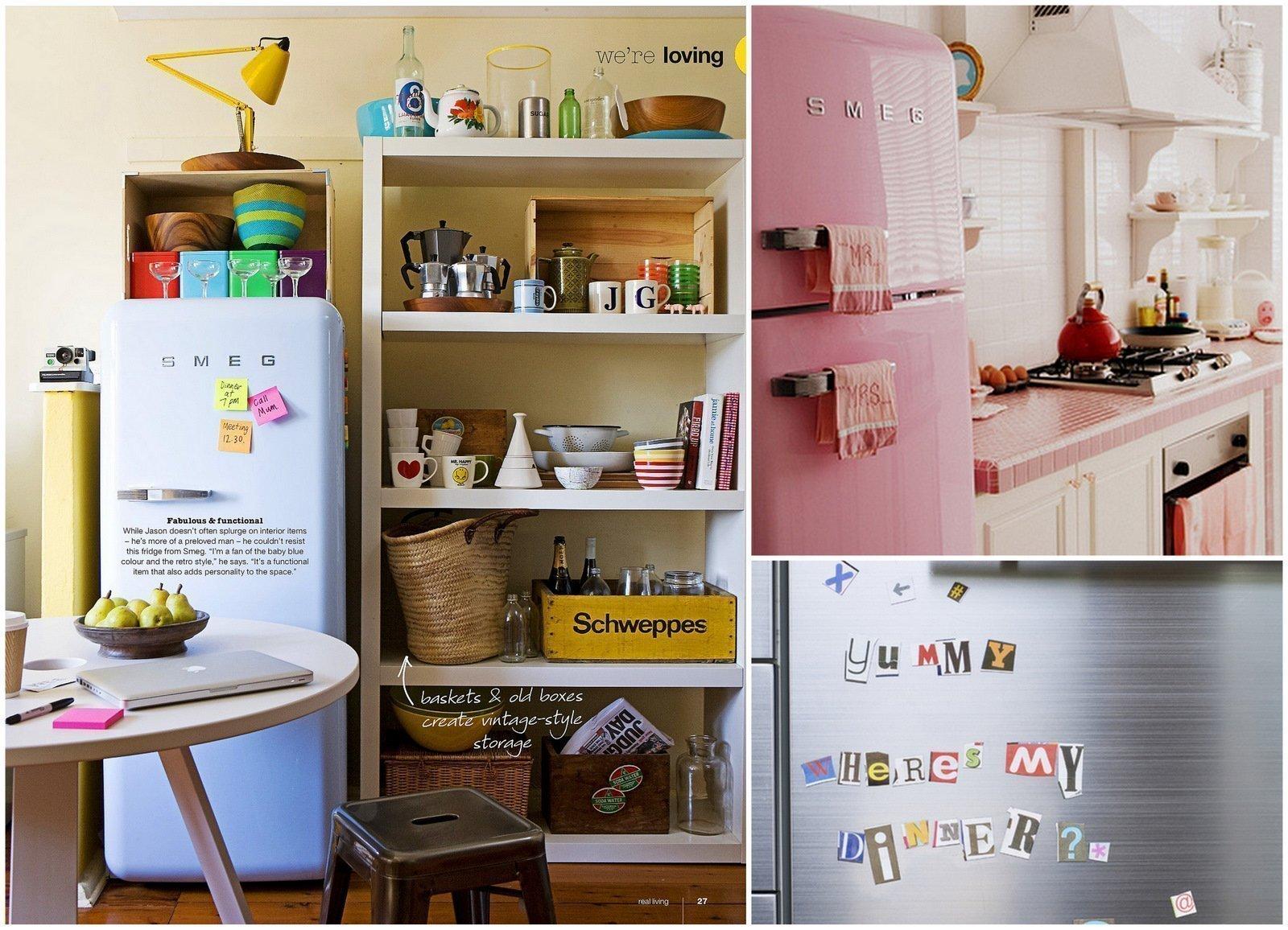 Декор домашнего холодильника