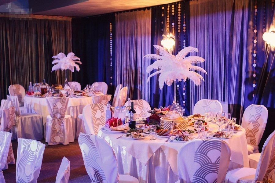 Оформление свадебного зала в в стиле Венецианского карнавала