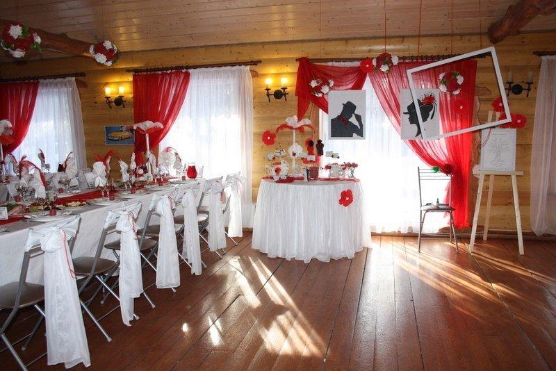 Свадебный зал в стиле Чикаго 20 годов