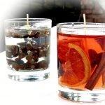 Кофейные зерна в стакане