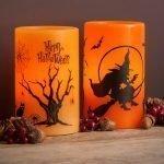Старый дуб и ведьма на свечах