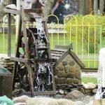 Колесо с водопадиком