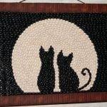 Луна и кошки