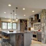 Светильники и люстры на кухонном потолке