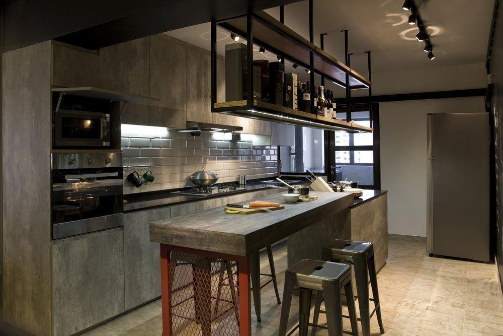 Креативная отделка на кухне