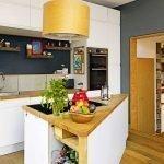 Небольшая кухня с залом