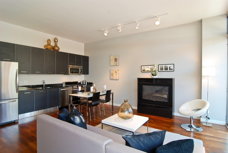 Стильный интерьер в современной квартире