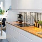 Кухня со столовой зоной