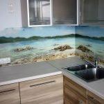 Природа на кухонном фартуке