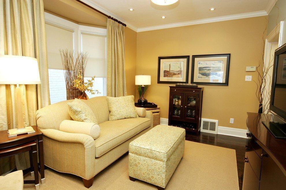 Песочный цвет в интерьере квартиры