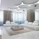 Оригинальные светильники на потолке