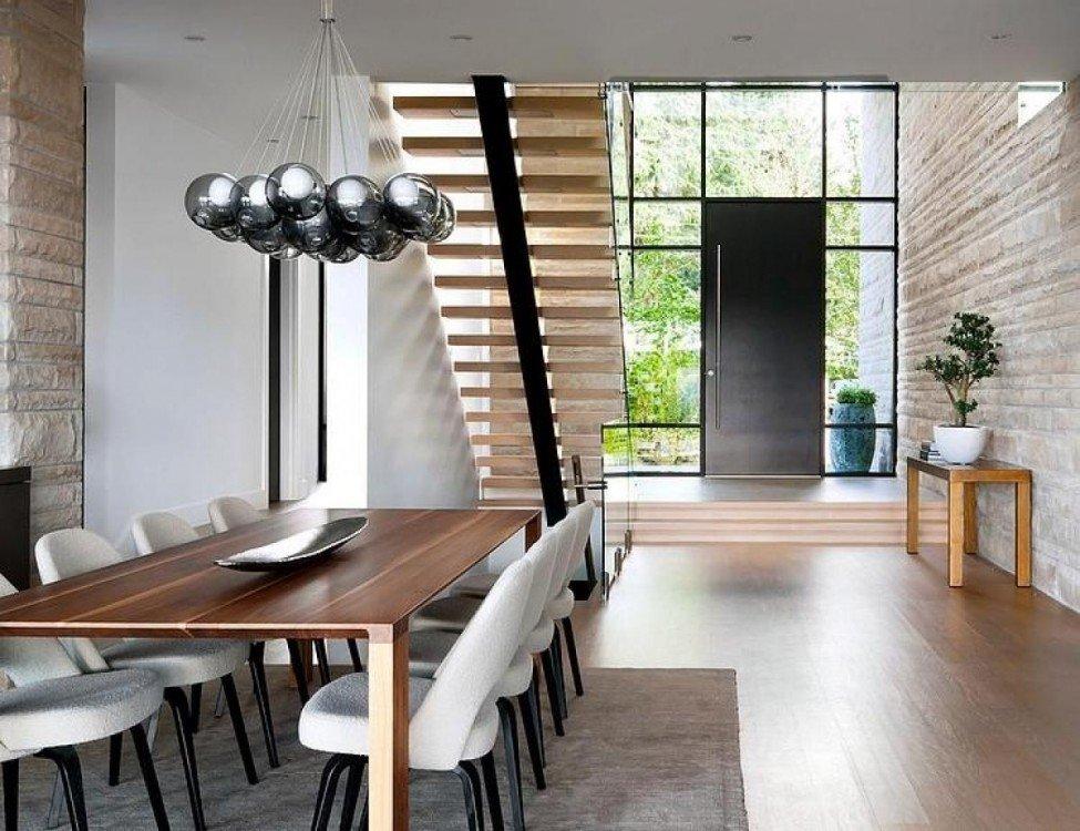 Дизайн лестницы для частного дома