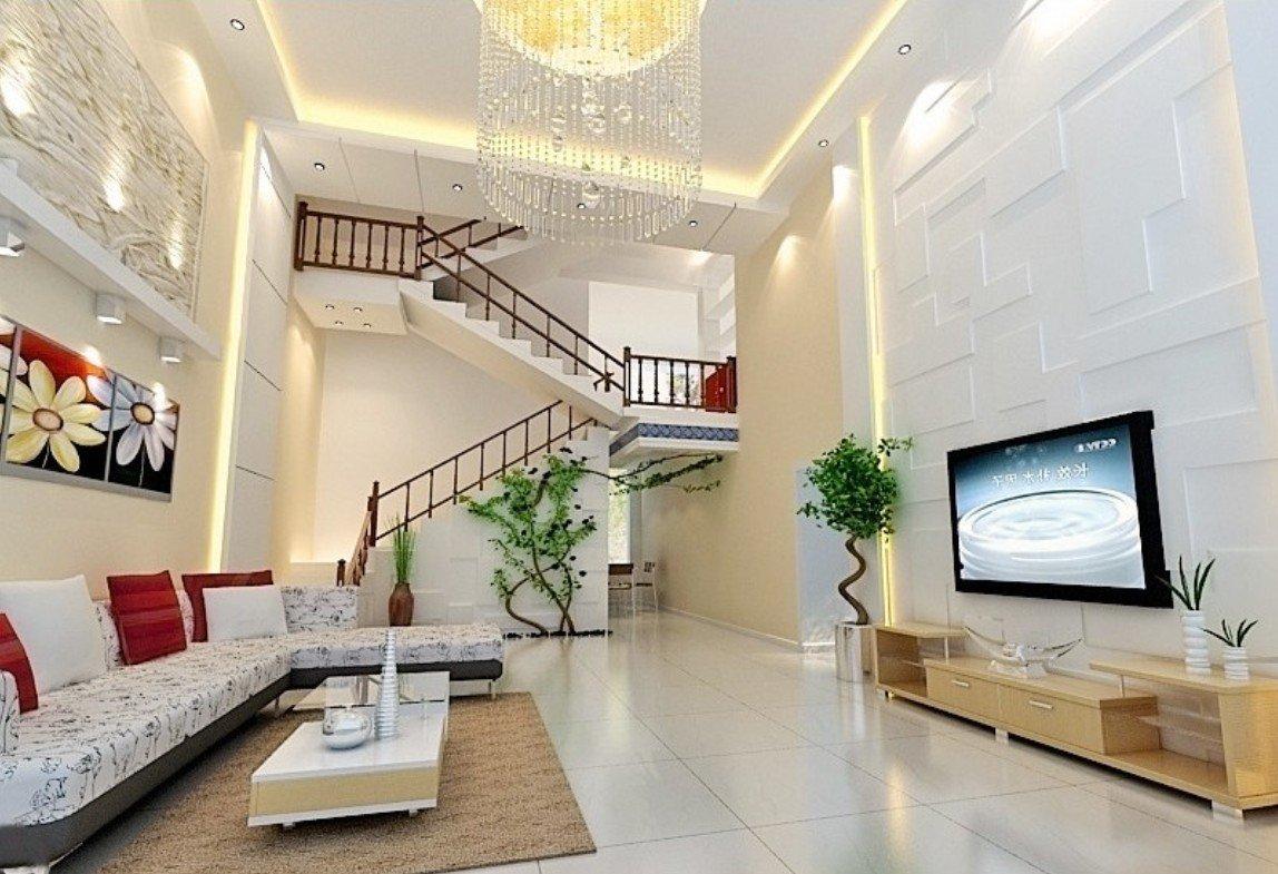 Изящная лестница на второй этаж