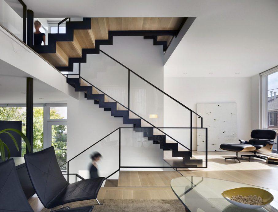 дизайн металлических лестниц в частном доме фото помады летуаль