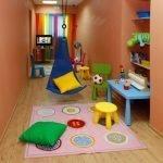 Цветная мебель в детской