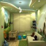 Декор для маленькой детской комнаты в квартире