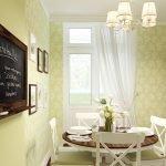 Доска для напоминаний на кухонной стене