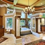 Роскошный дизайн ванной в доме