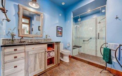 Дизайн ванной комнаты в частном доме +75 фото обустройства