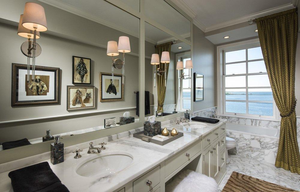 Изящная мебель в ванной