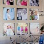 Яркие фотографии в кухне серого цвета
