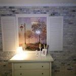 Рисунок на стене в виде окна