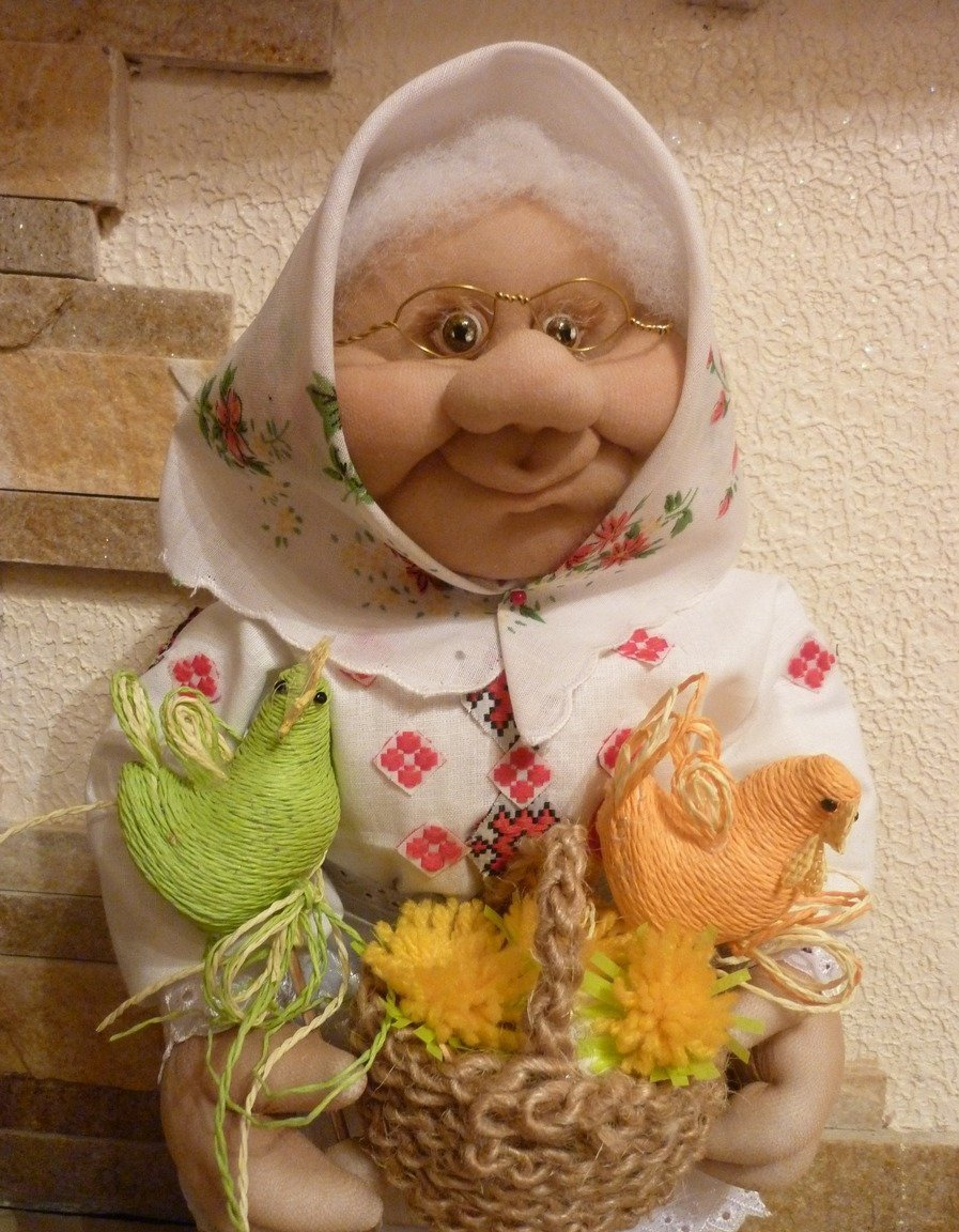 Куклы из синтепона и колготок картинки