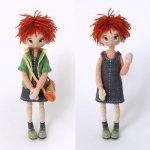 Кукла в разных нарядах