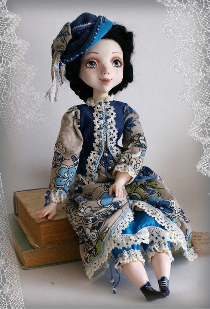 так как авторские куклы из полимерной глины фото вот эти, коллекционным