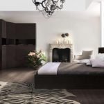 Спальня цвета венге
