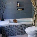 Облицовка ванны мозаикой