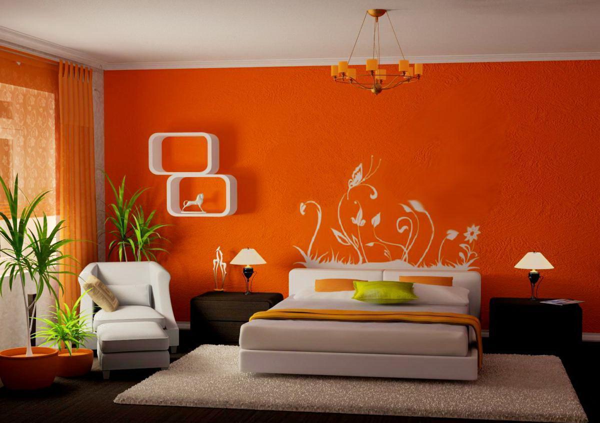 Силиконовая краска для спальни