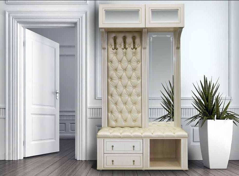 Мягкая мебель в современной прихожей