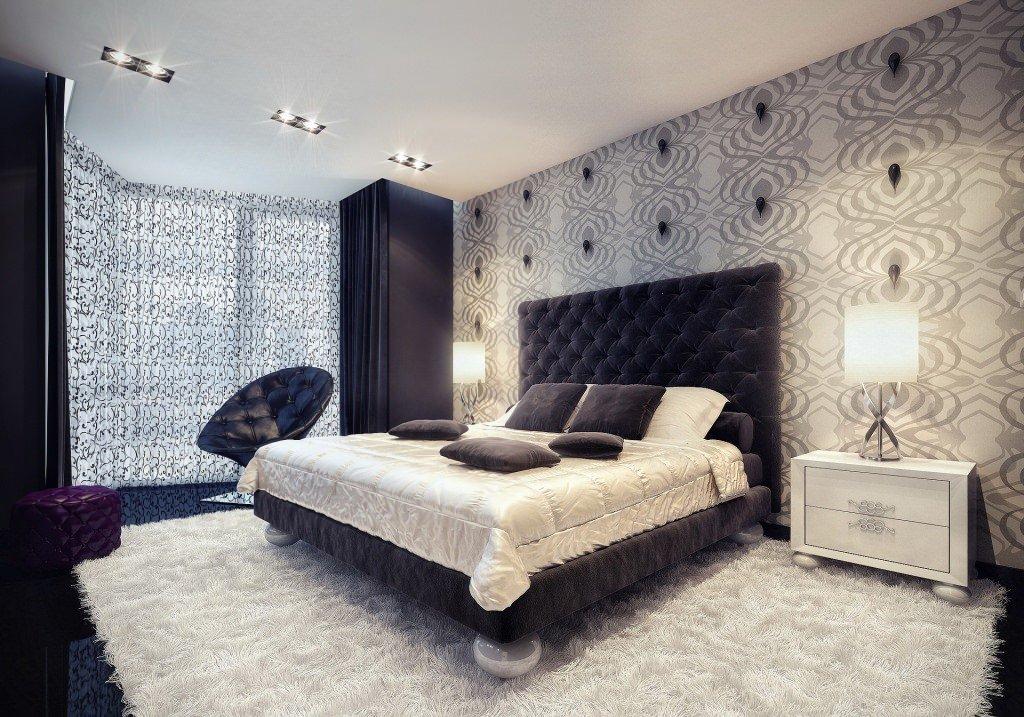спальня в серых тонах дизайн и 60 фото интерьера серой спальни