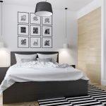 Картины над кроватью в спальне
