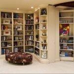 Шкафы для книг до потолка
