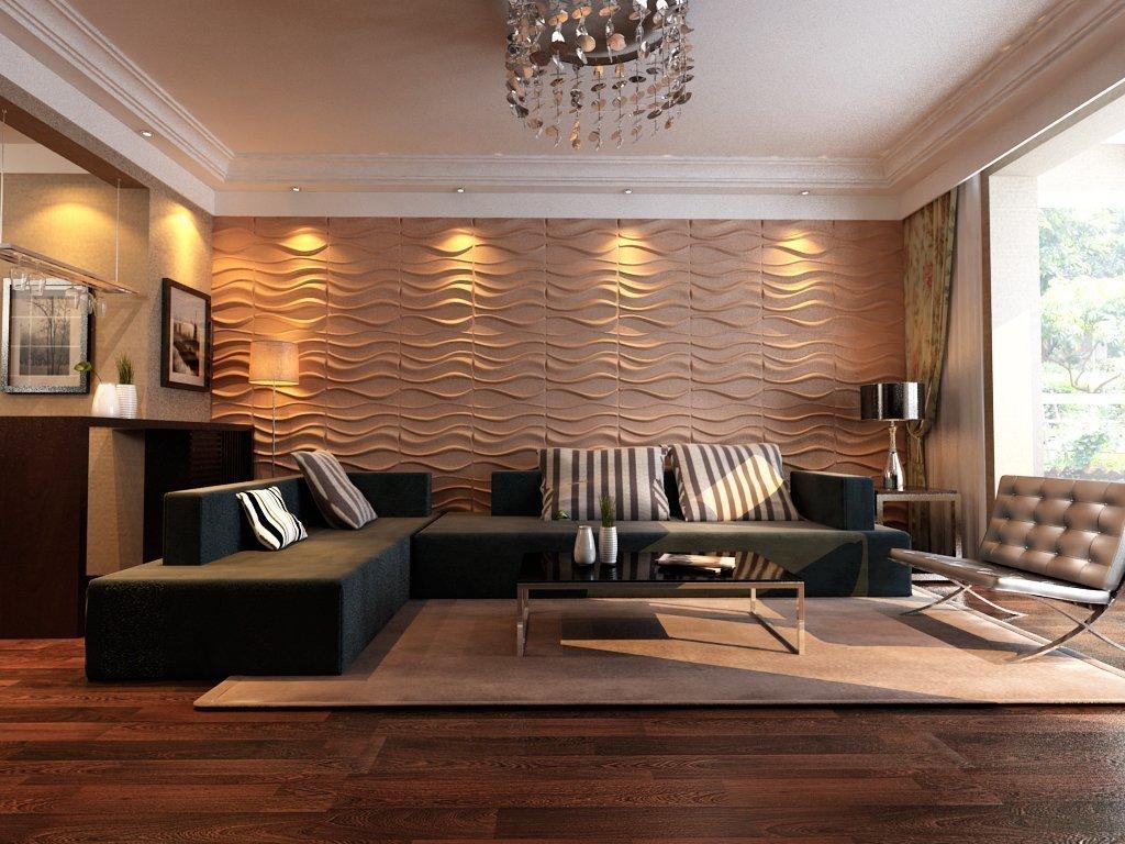 Стеновые панели в дизайне интерьера +75 фото идей применения